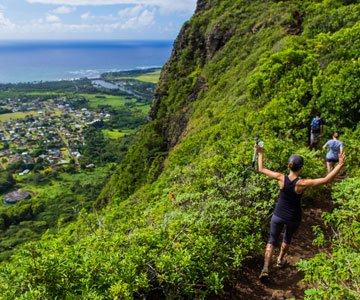 Hiking kauai