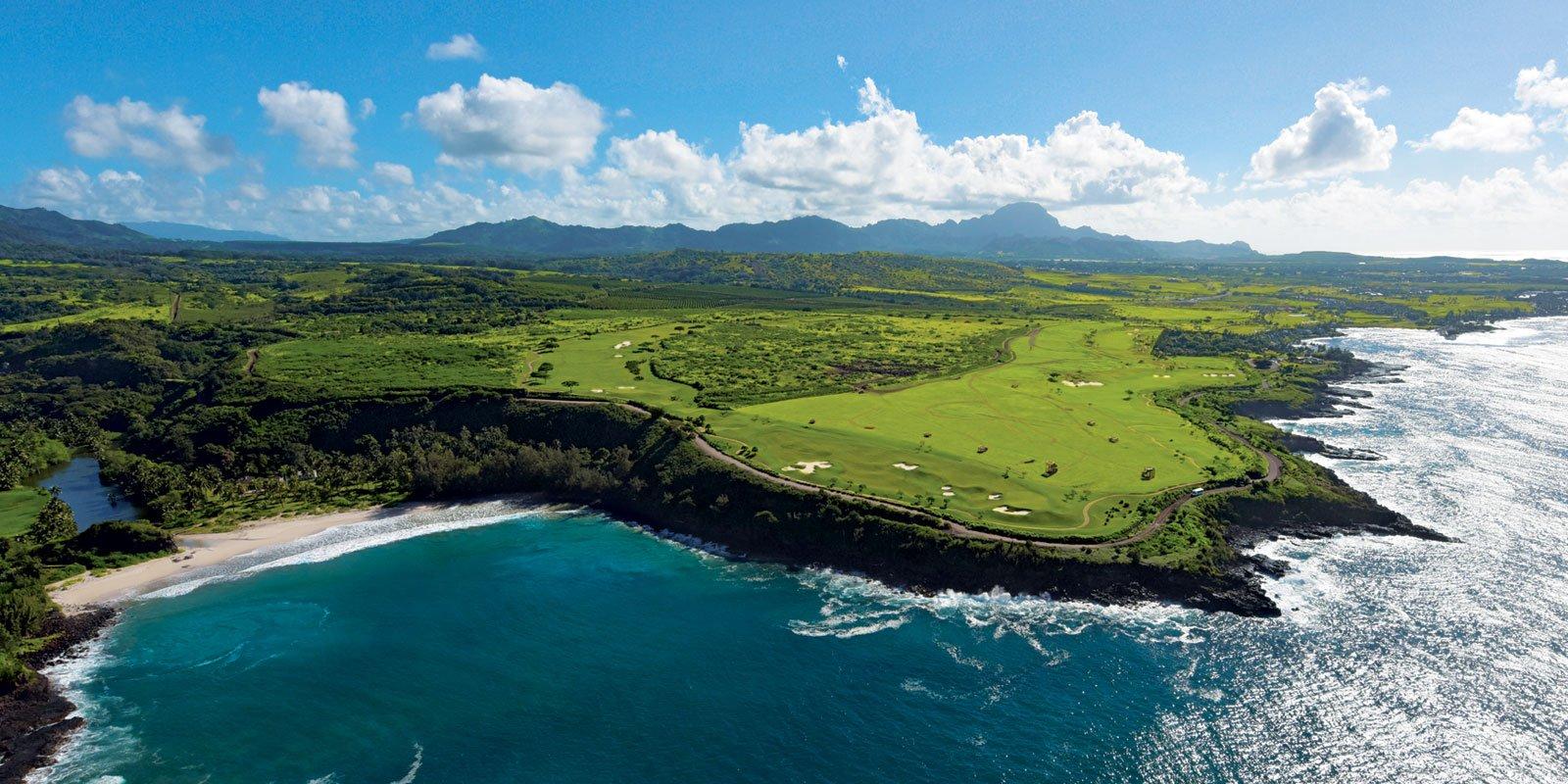 Aerial of Poipu Kauai