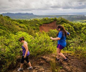 Kauai Hiking - Sleeping Giant Trail