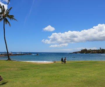 Kukui'ula bay kauai