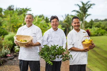 The Chefs at Kukuiula