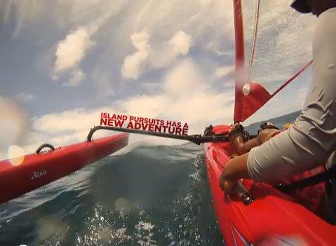 Kukui'ula Video: Kayak Sailing