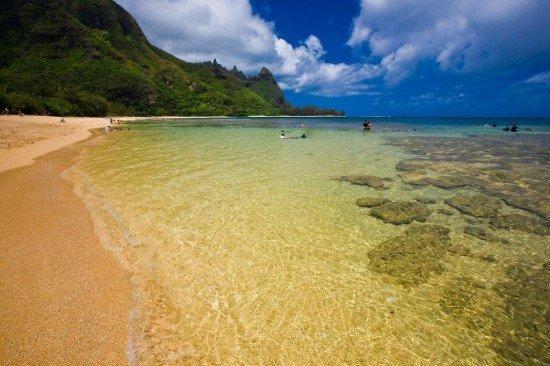 Tunnels beach Kauai | North shore