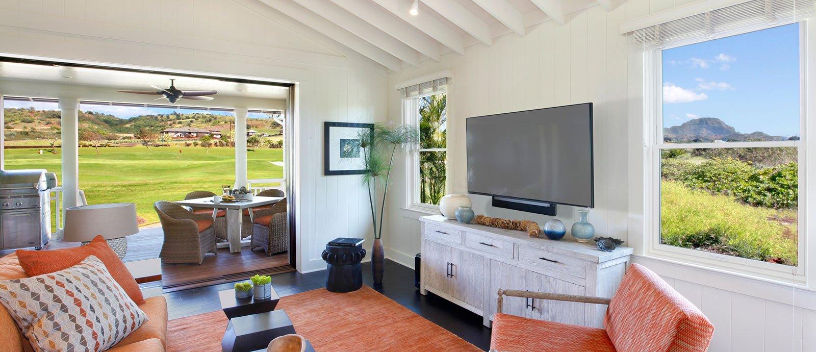 2 bedroom bungalow living room