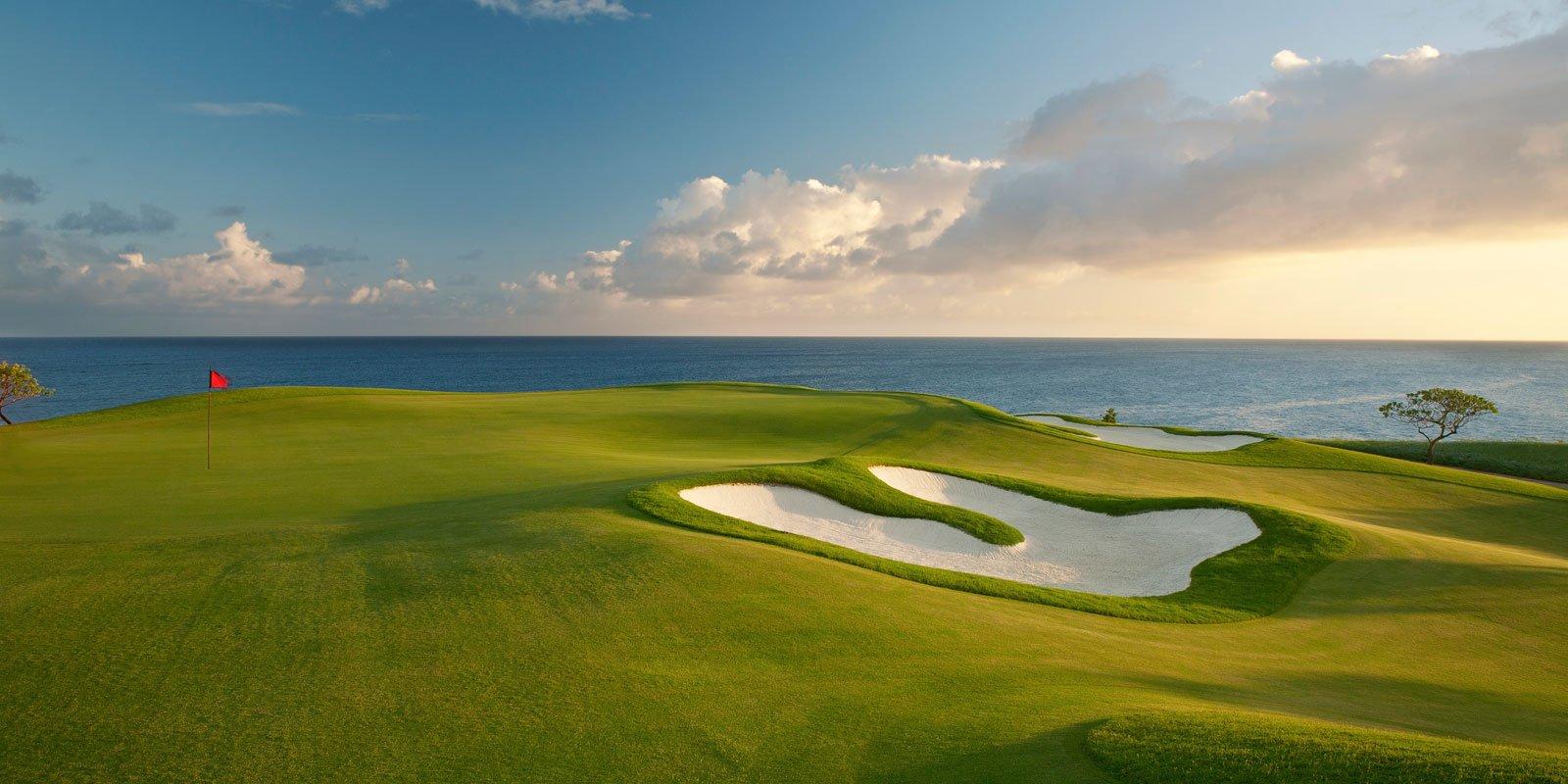 14th hole at kukuiula golf course