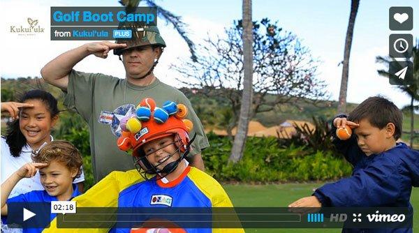 Kukui'ula Video: Junior Golf Boot Camp
