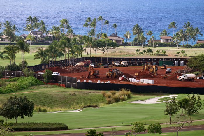 Thumbnail for Construction at Kukui'ula