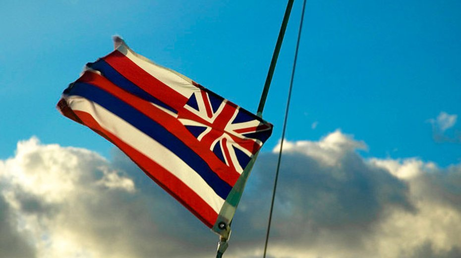 hawaiian state flag