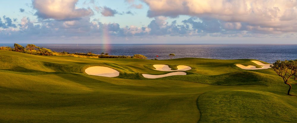 Golf Shot Hole 14