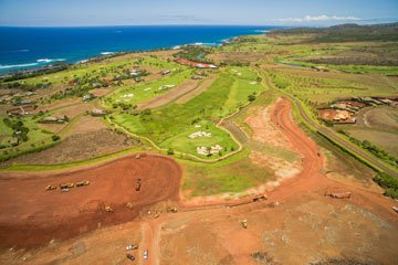 Graded and padded lots in Poipu Kukuiula
