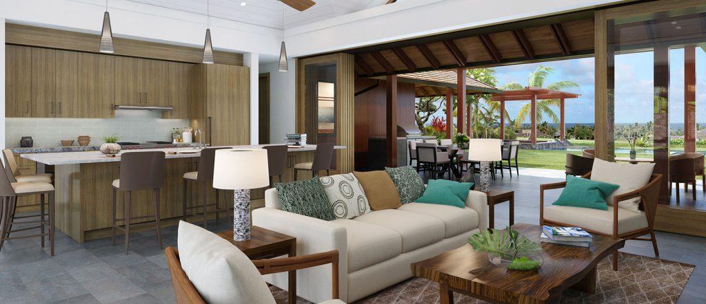 Kainani 18 Custom Home Living- Kukuiula Real Estate