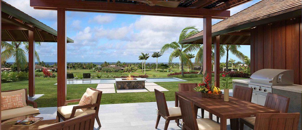 Ocean views from Kainani custom home 16