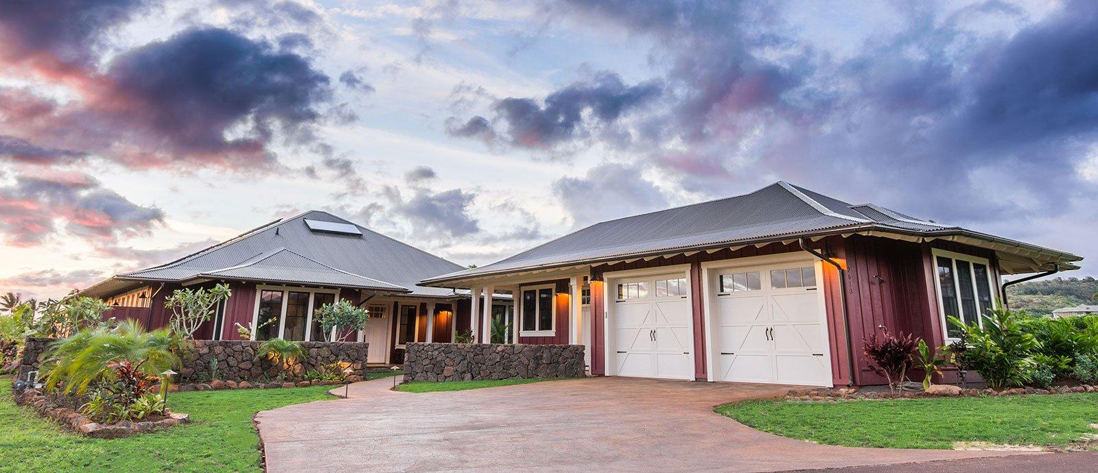 Kauai Real estate #66 - driveway