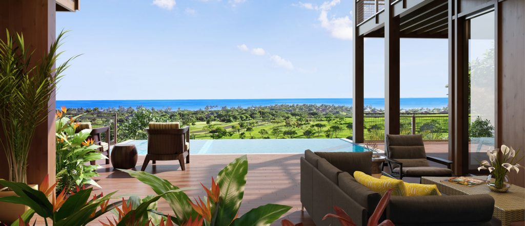 Ocean Views from Olson Kunding Custom Home #40 - Kukuiula Real Estate Kauai