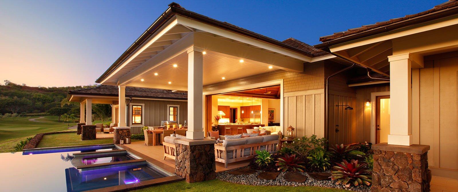 Kauai Luxury homes at Kukuiula - Mauka 22 Custom Home