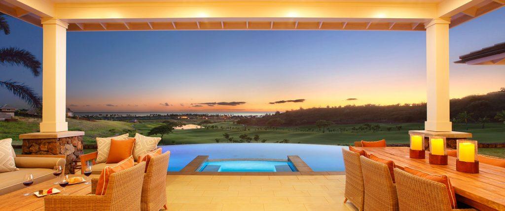 Sunset from Mauka Custom Home #22 - Kauai Real Estate Kukuiula