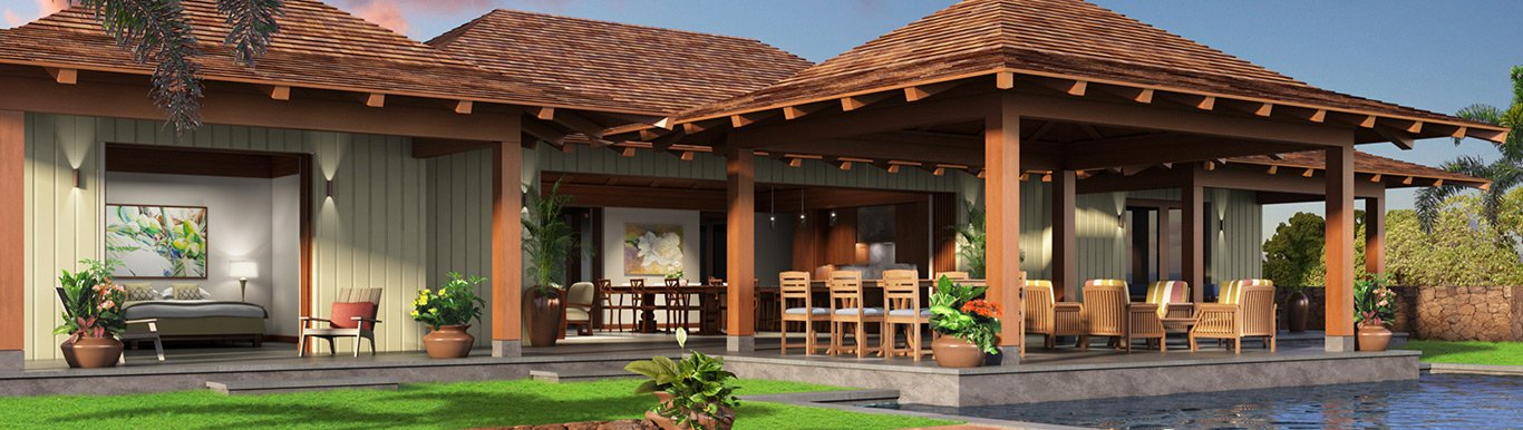 Build your own kauai custom homes kukui 39 ula for Build your own luxury home