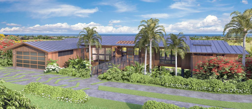 Front view of Lot 38 luxury property
